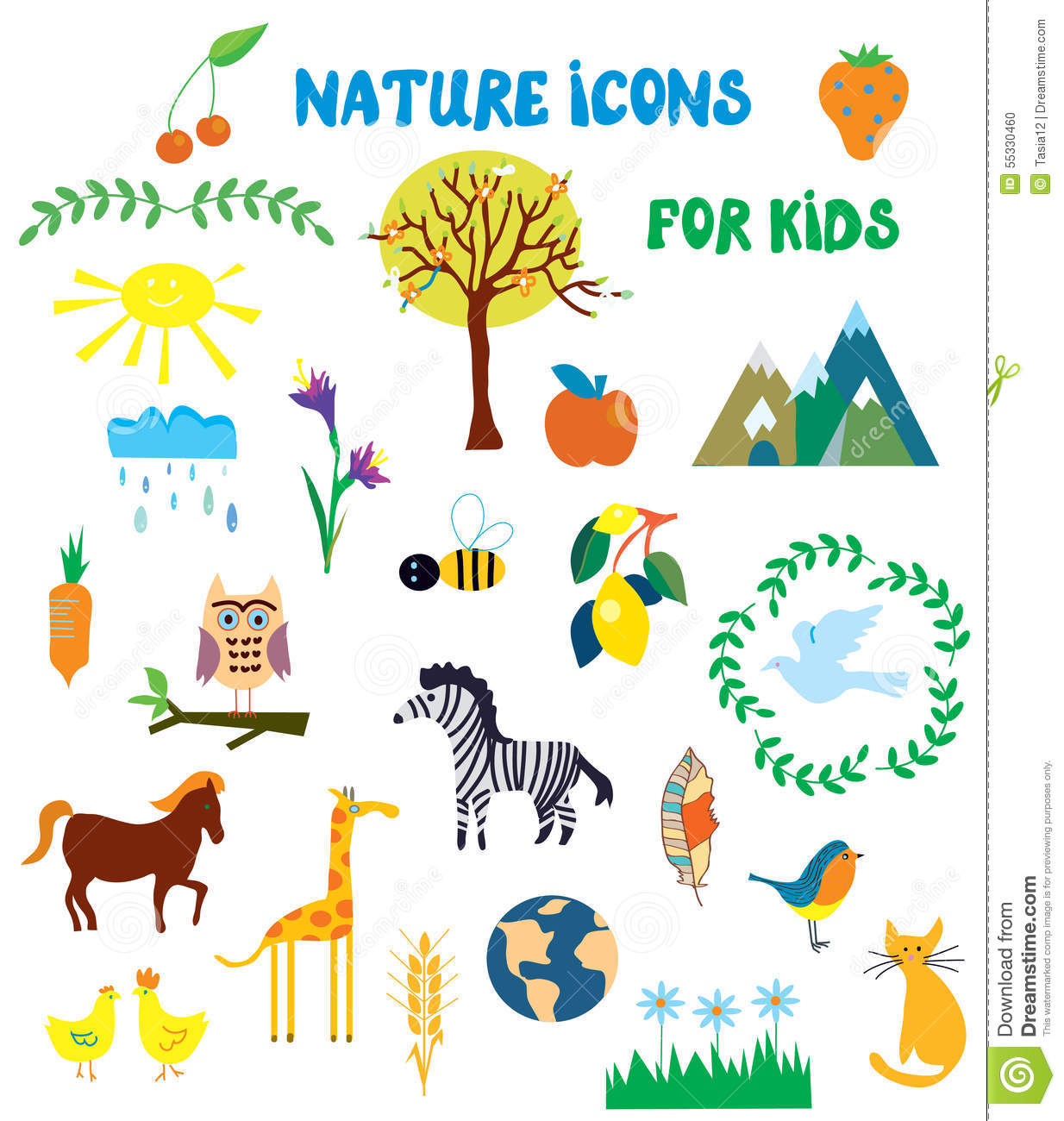 Worksheets About Nature For Kids