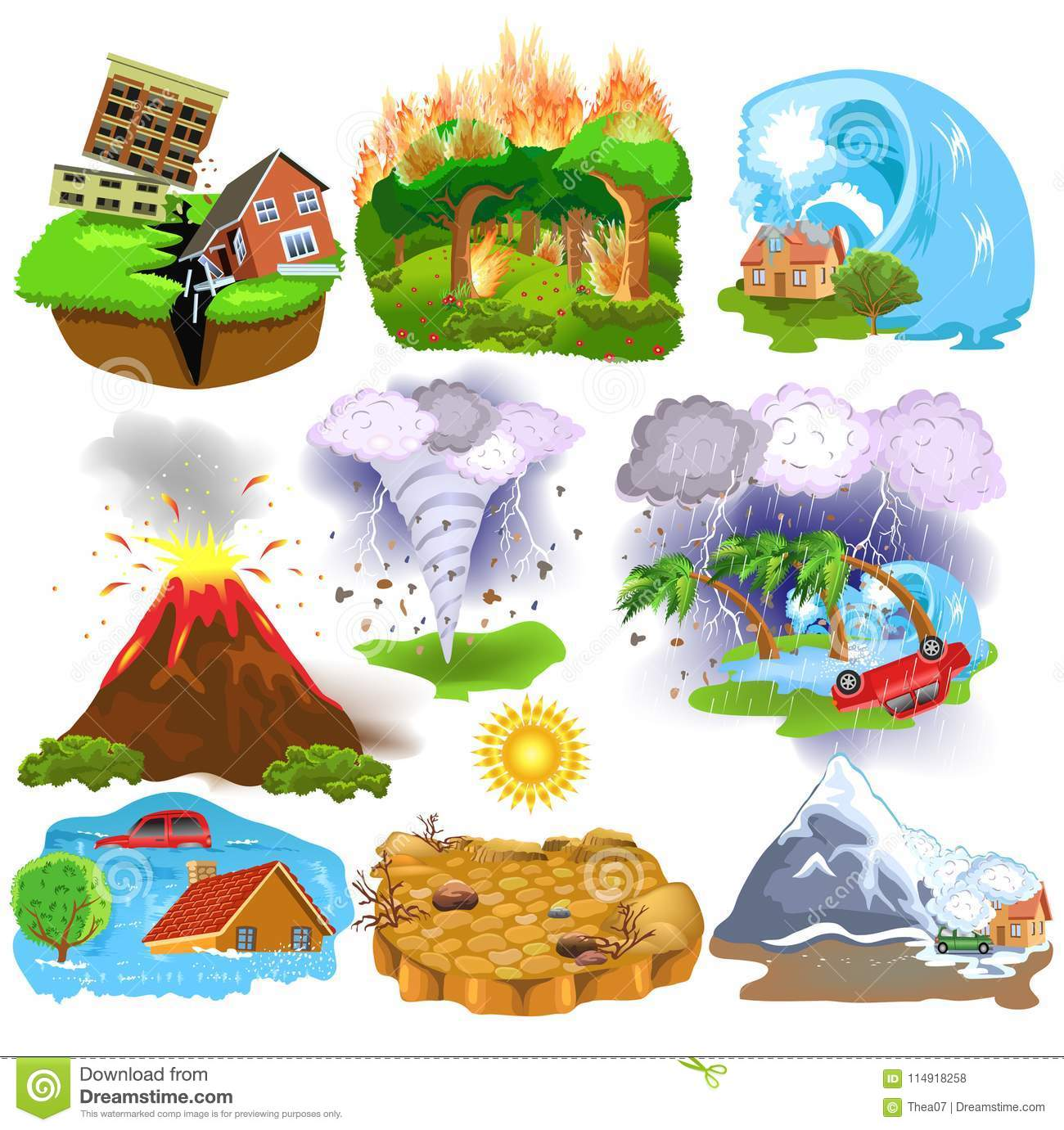 Wildfire Worksheets For Kids