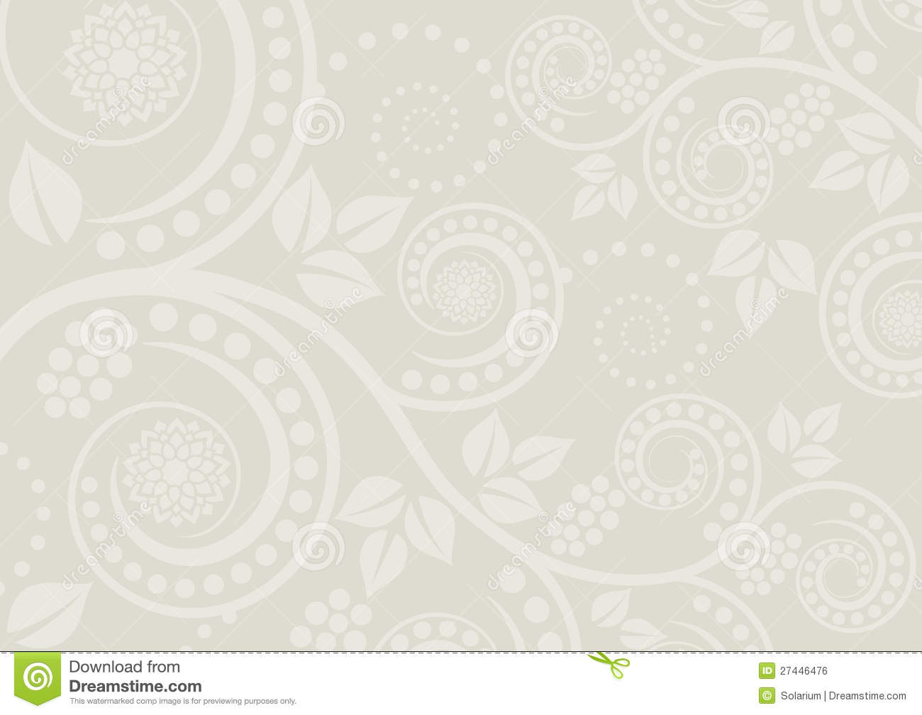 Neutral Background Stock Vector Illustration Of Motif