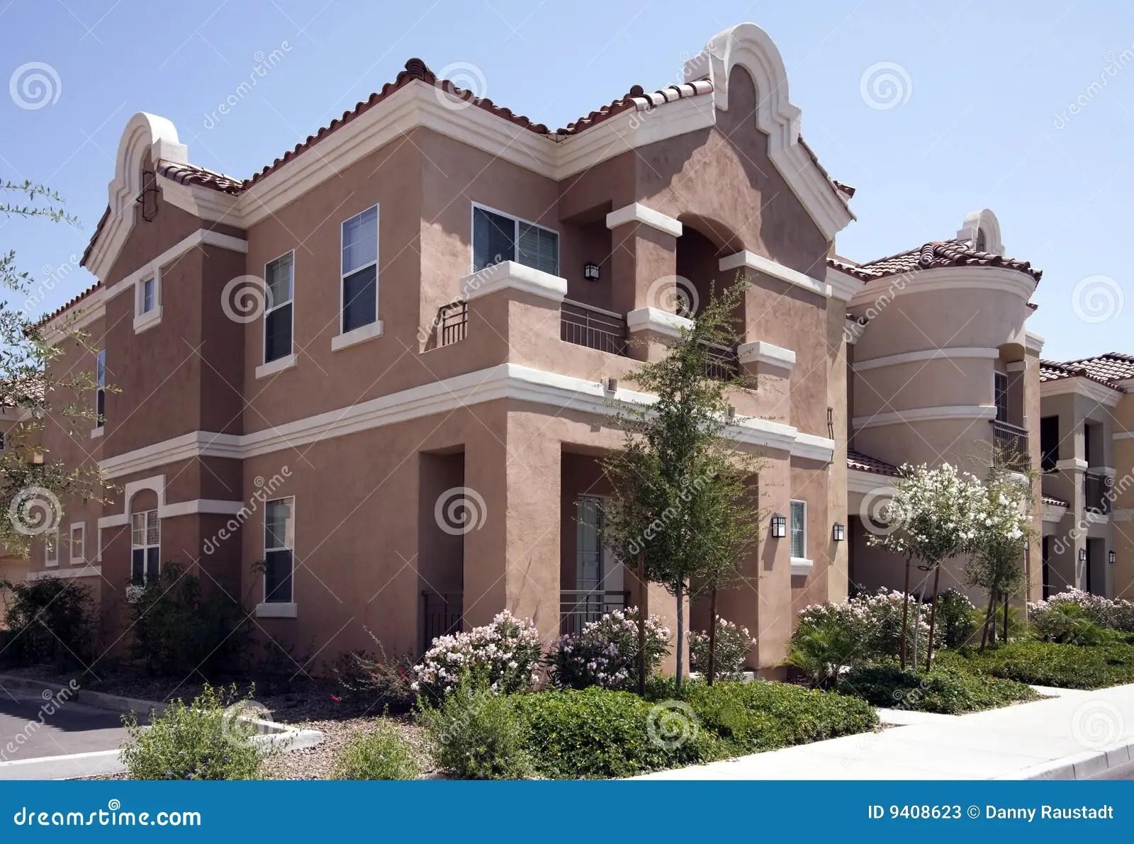 New Modern Arizona Homes Stock Photos Image 9408623