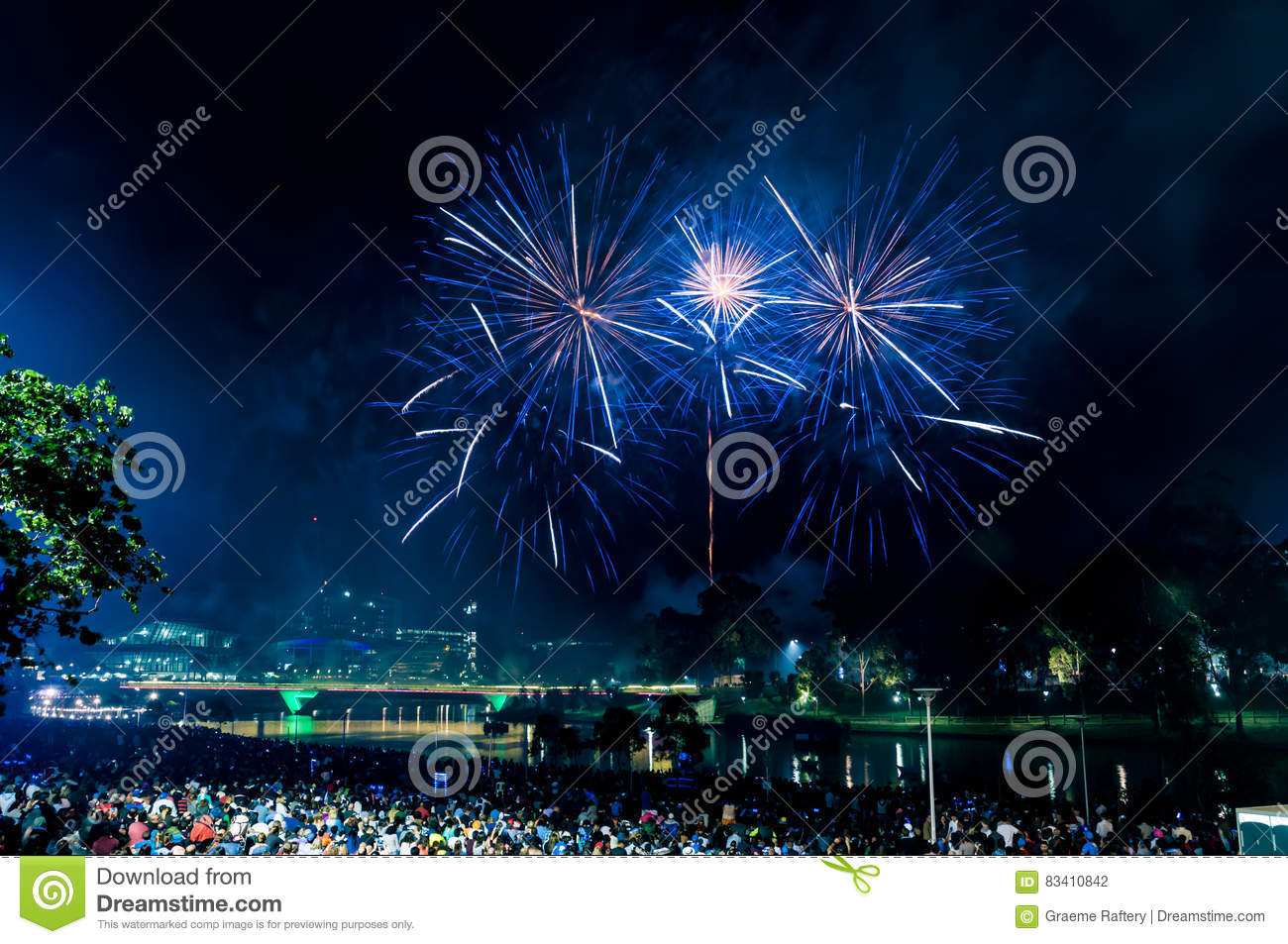 New Year S Eve Stock Photo Image Of Evening Display