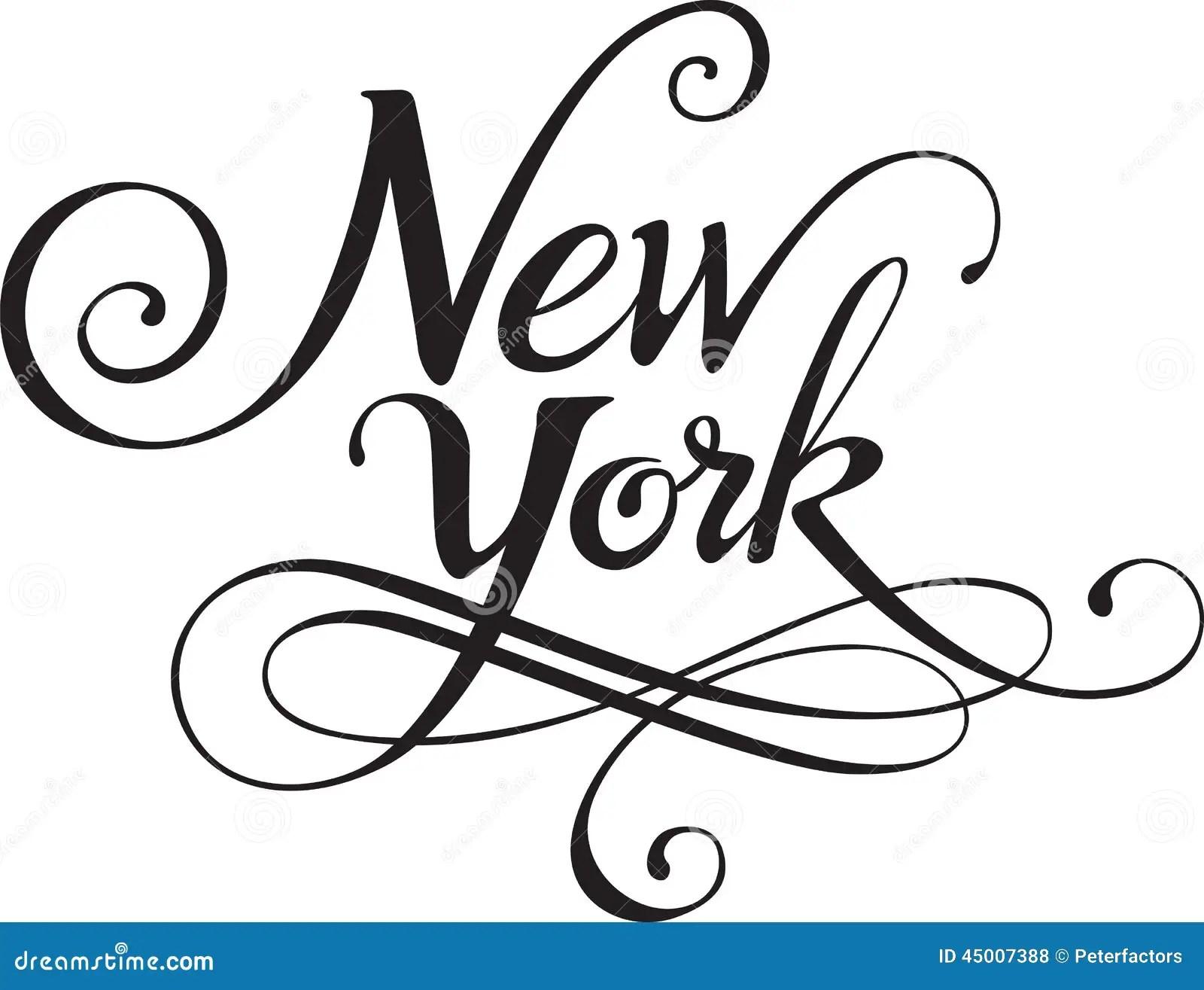 New York Illustration De Vecteur Illustration Du