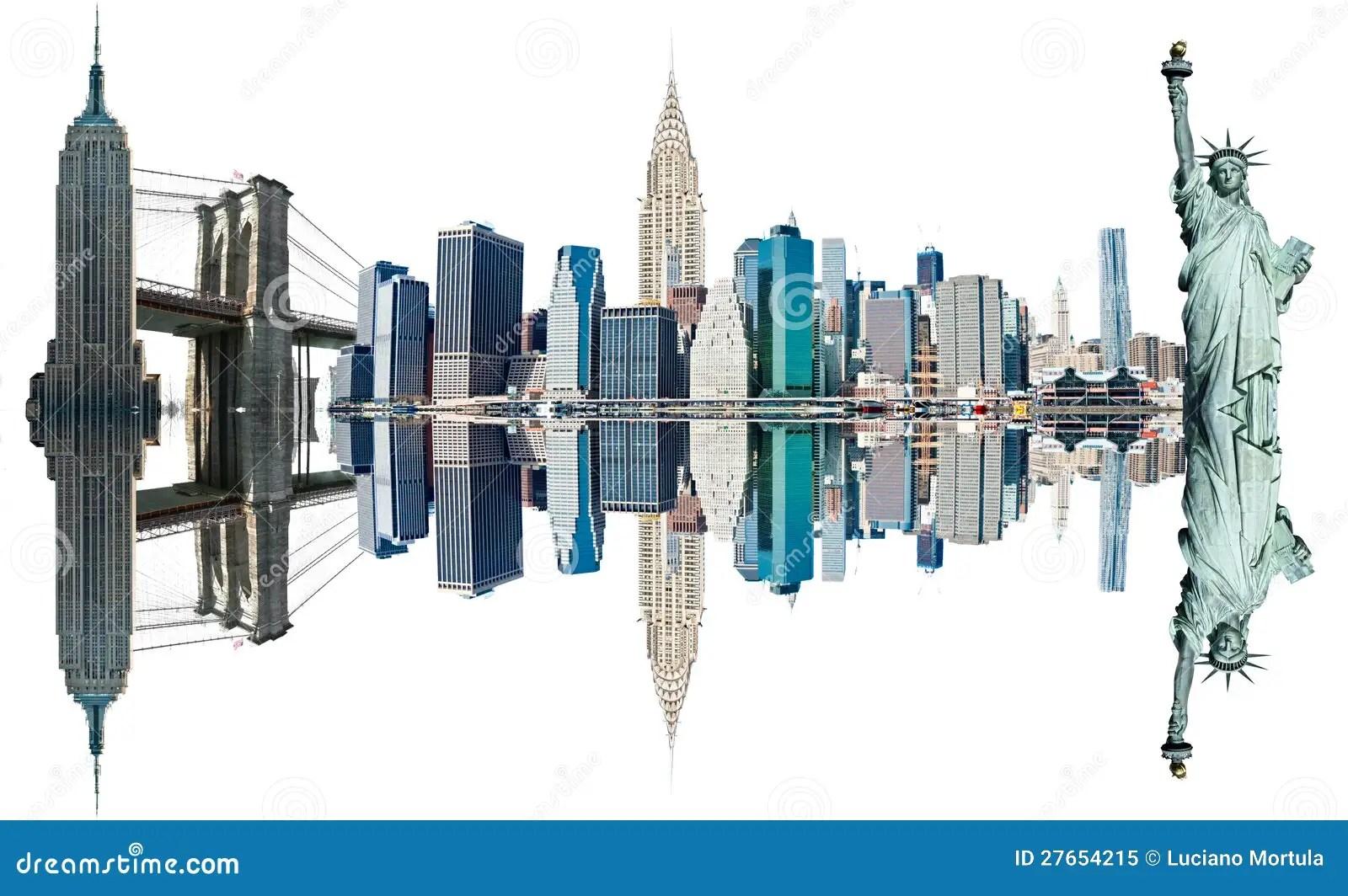 New York City Landmarks Usa Stock Image