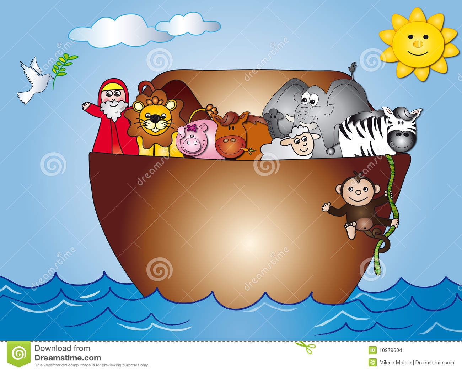 Art Animals Noahs Clip