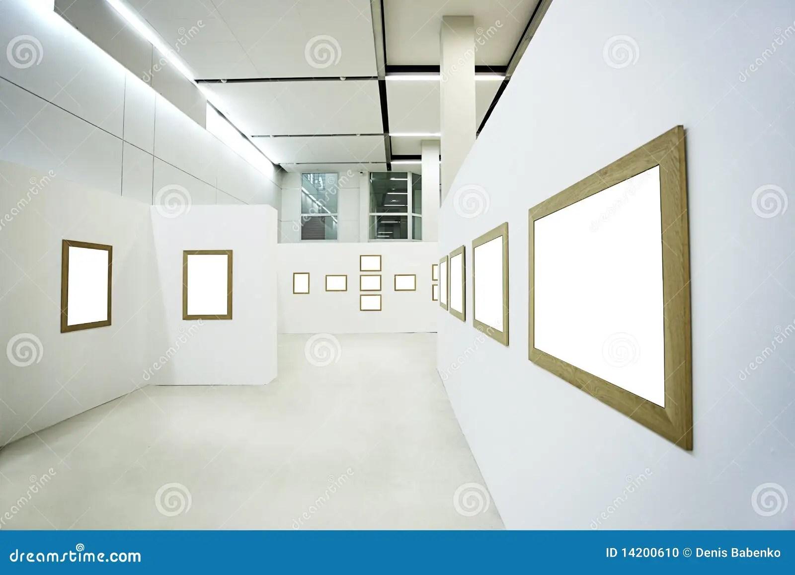 Nobody In The Museum Interior Stock Photo Image 14200610