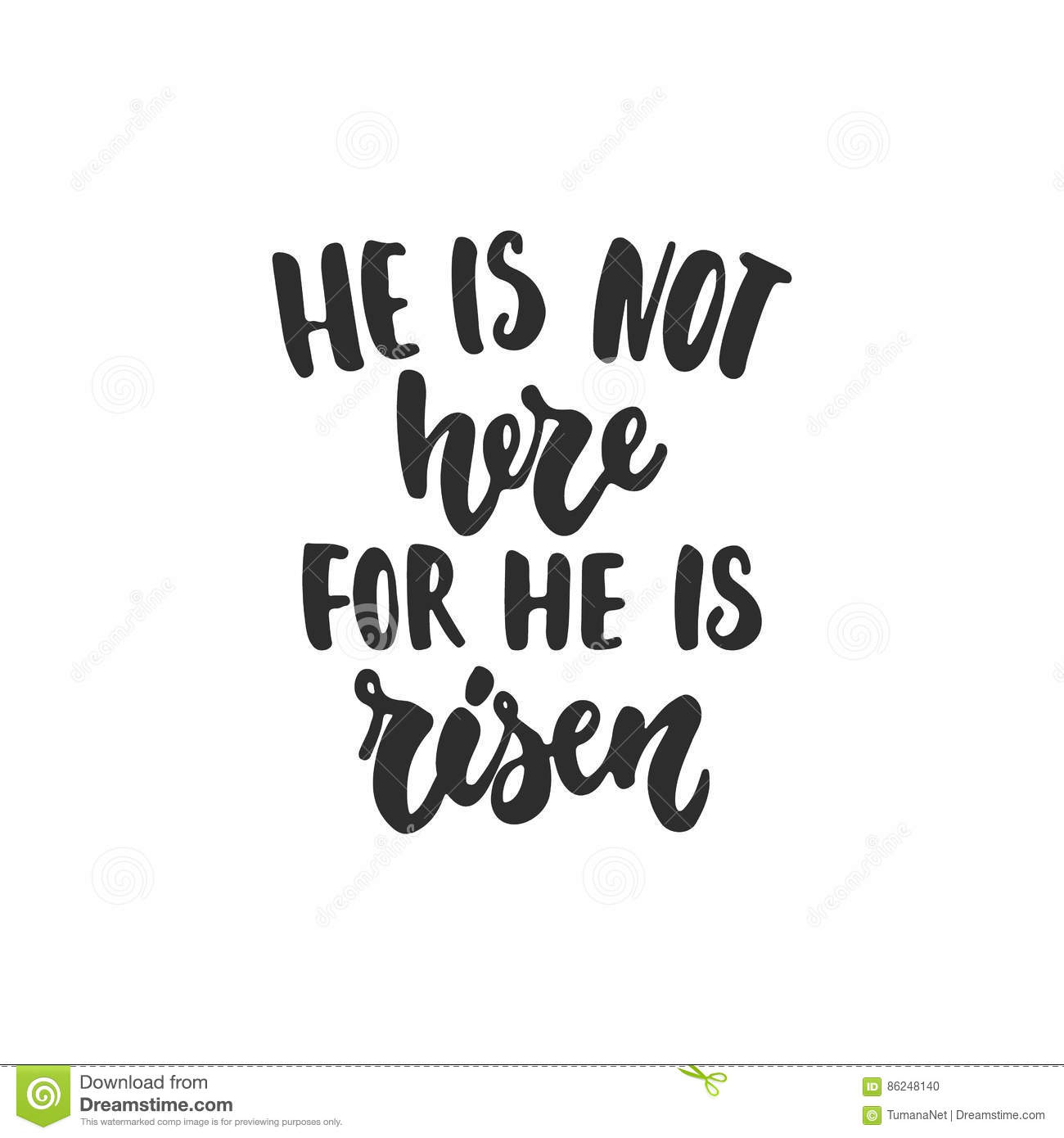 He Is Not Here For He Is Risen