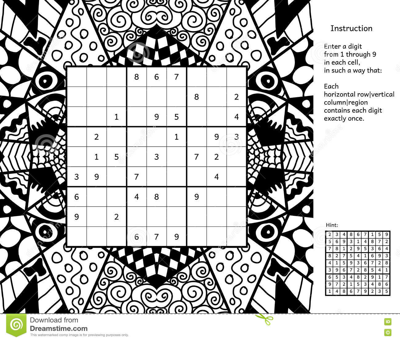 Puzzle Place Book Coloring Pages