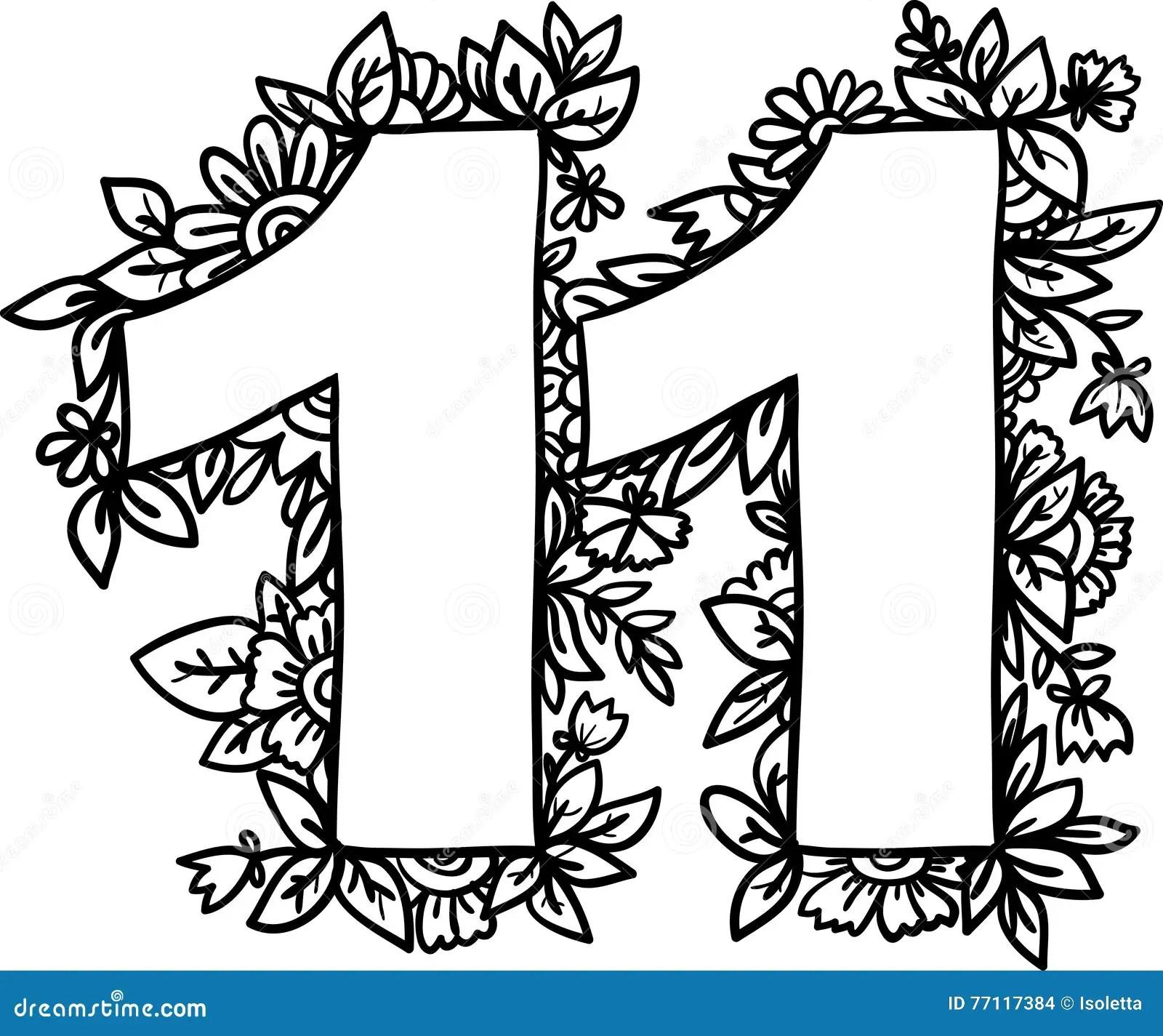 Number 11 Vector Design Element Stock Vector
