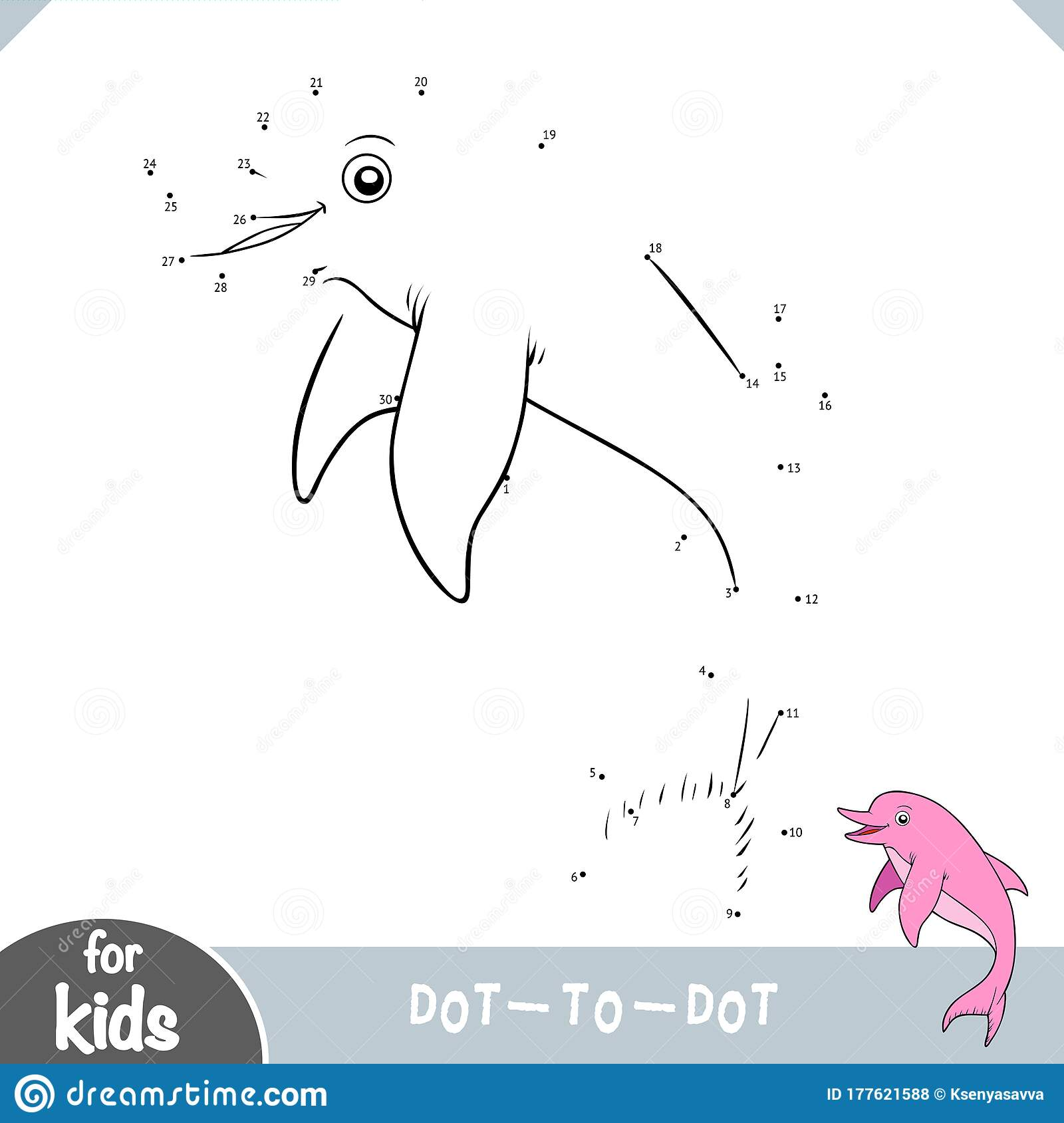 Numbers Game Education Dot To Dot Game Freshwater Amazon
