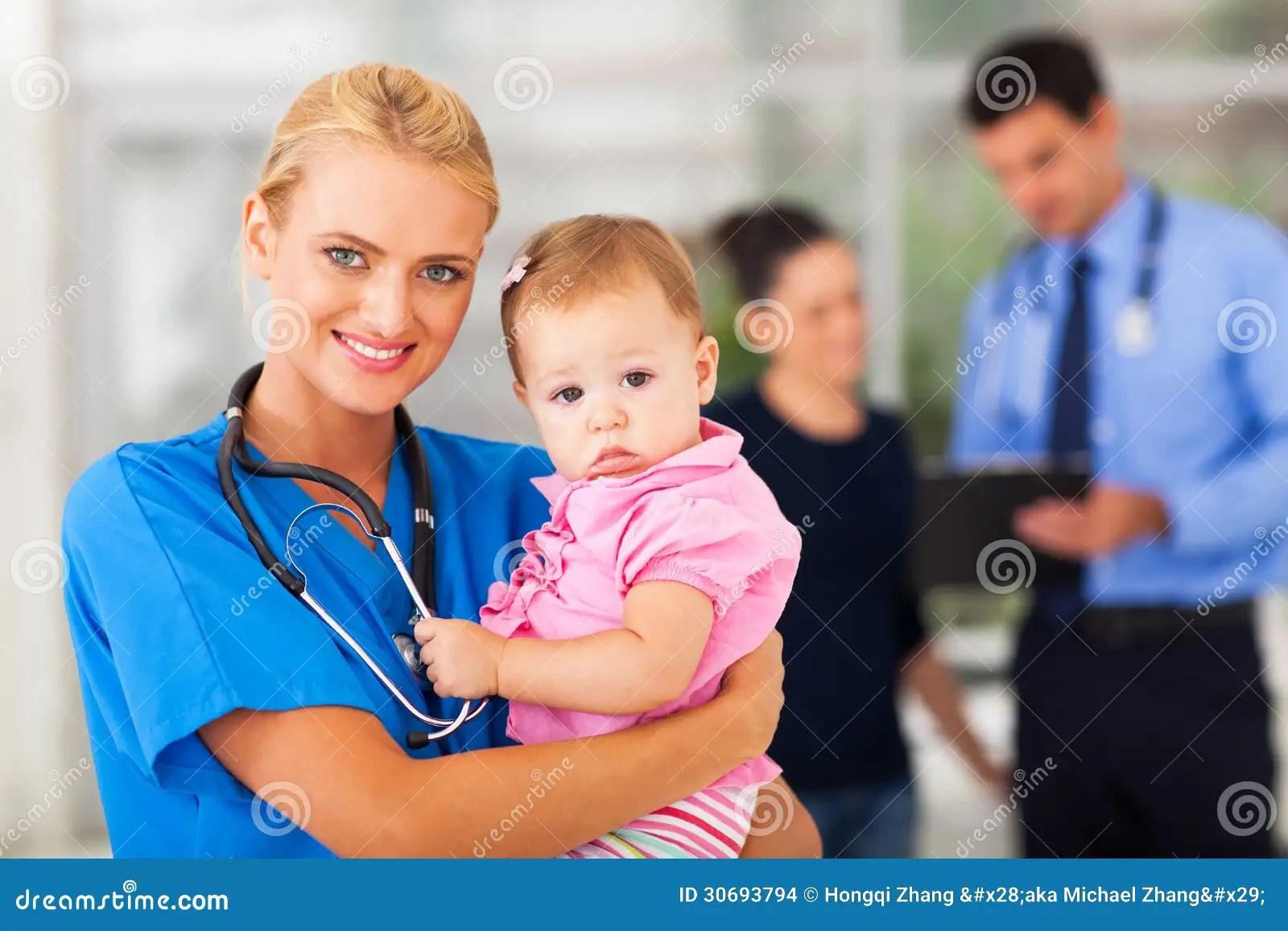 Sick Girl Hospital Baby