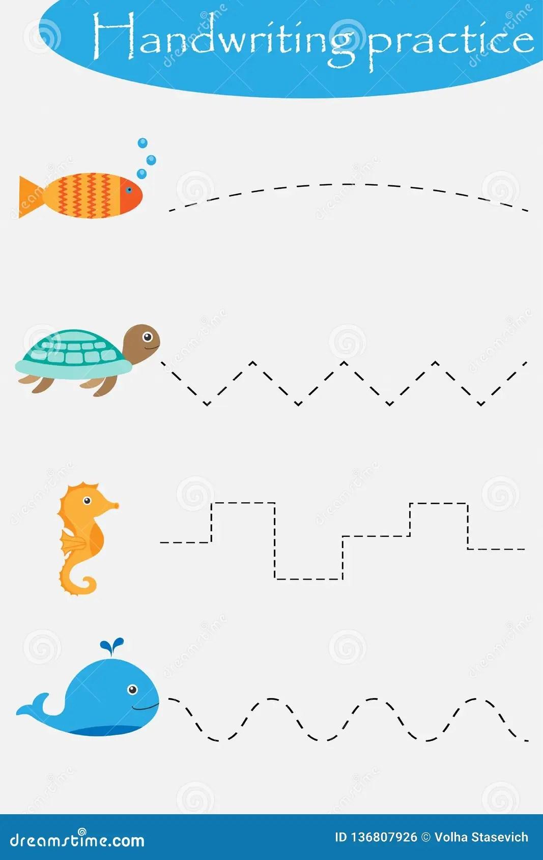 Ocean And Sea Animals Wheel Fish Turtle Seahorse