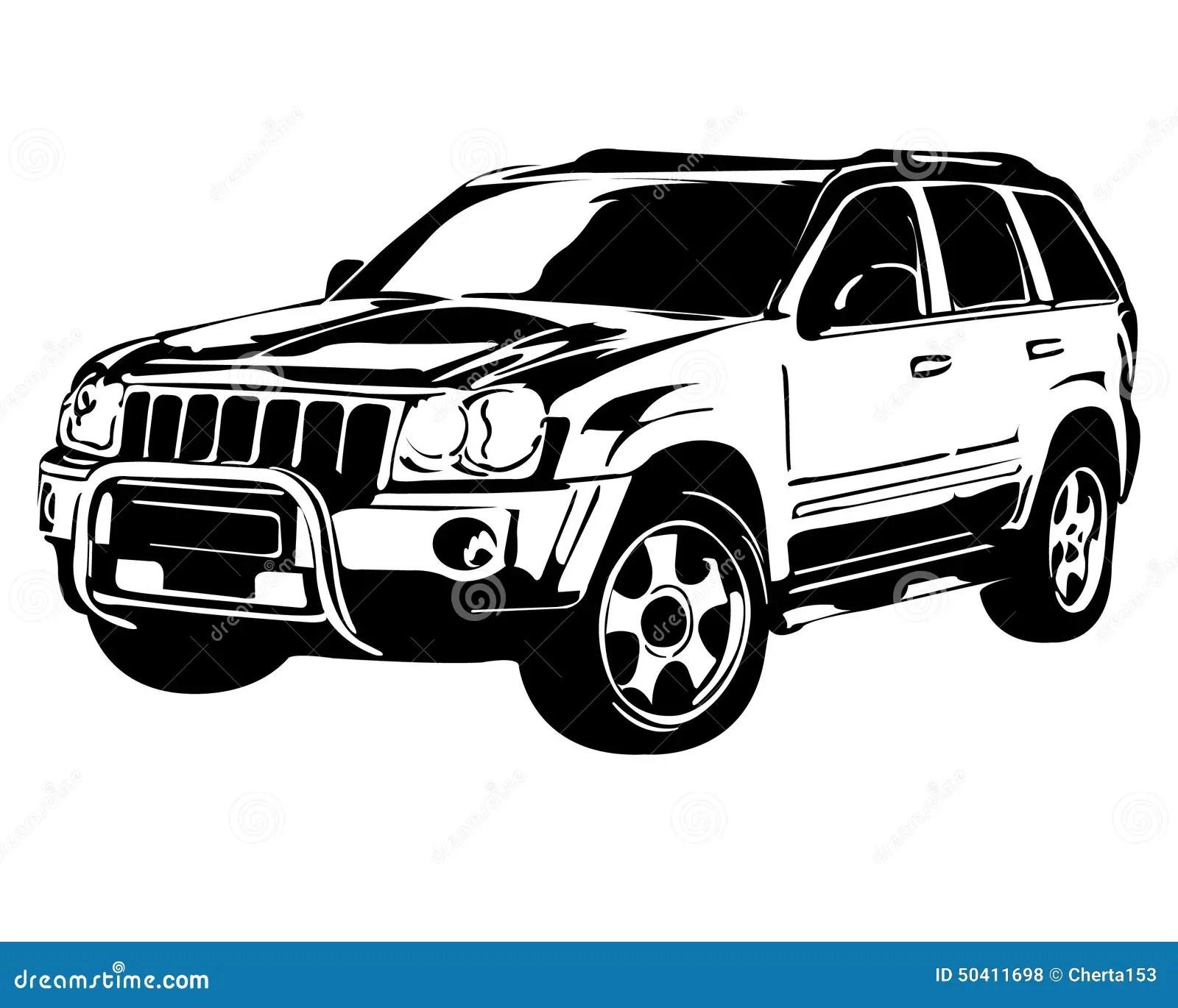 Off Road Vehicle Stock Illustration Illustration Of