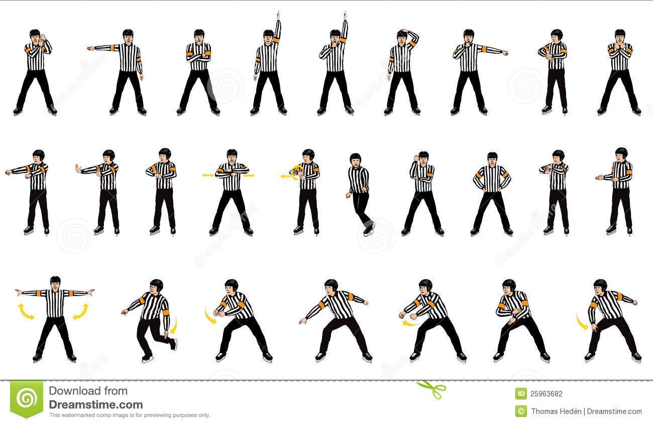 Officials Signals Stock Photography