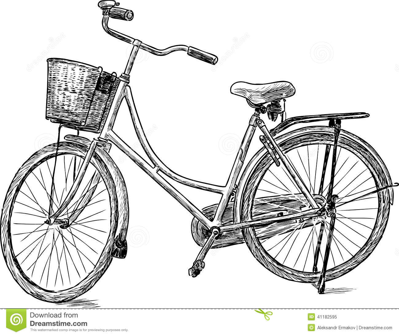 Old Bicycle Stock Image Image Of Exercise Wheels