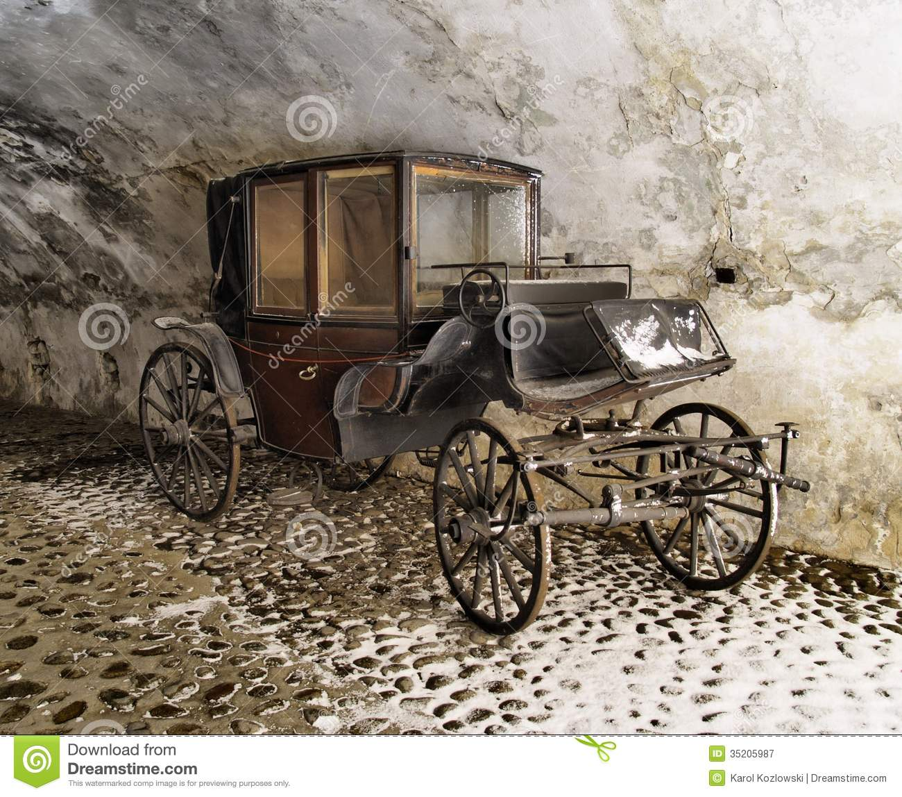 Old Carriage Stock Image Image Of Antique Horse