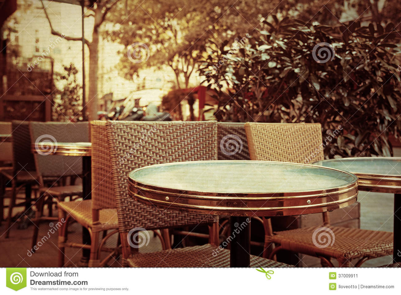 old fashioned cafe terrace stock image image of classic 37009911