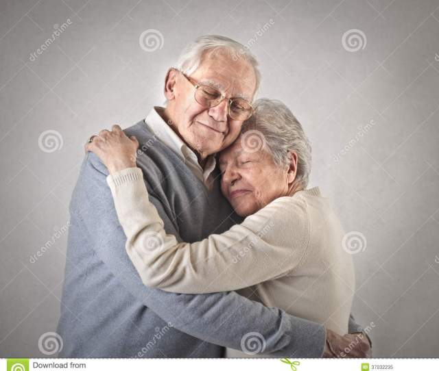 Old Man And Woman