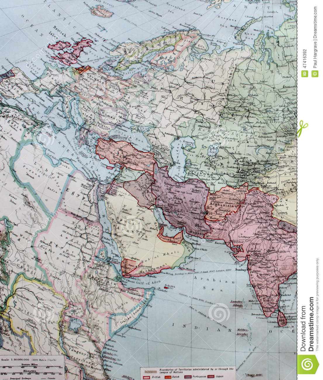Old 1945 Map Of Western Europe Including North Africa Stock Illustration Illustration Of Travel Study 47416392