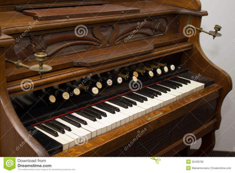 old organ stock image. image of classic, orgel, stool - 32439795