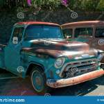 Old Rusty Chevrolet Pickup Truck 1957 Editorial Image Image Of Chevy Pickup 146882625