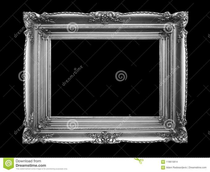 Old Silver Photo Frames Amtframe Co