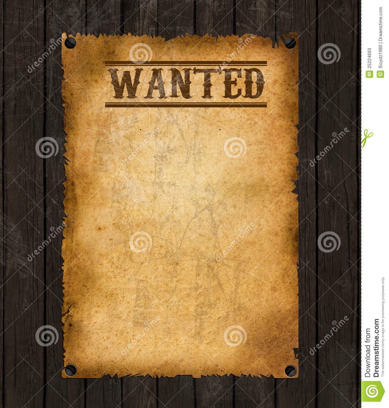 Doc501648 Free Printable Wanted Poster Most Wanted Poster – Wanted Poster Outline