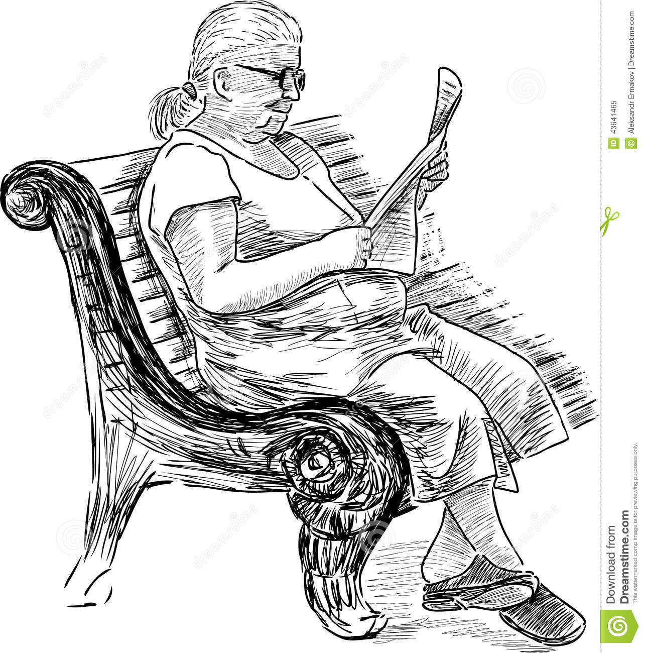 Old Woman Clipart