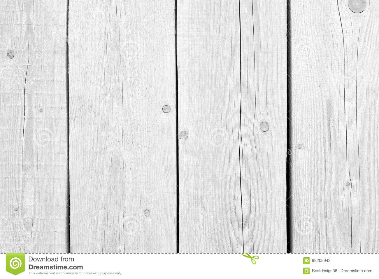 White Old Wood Or Wooden Vintage Plank Floor Or Wall