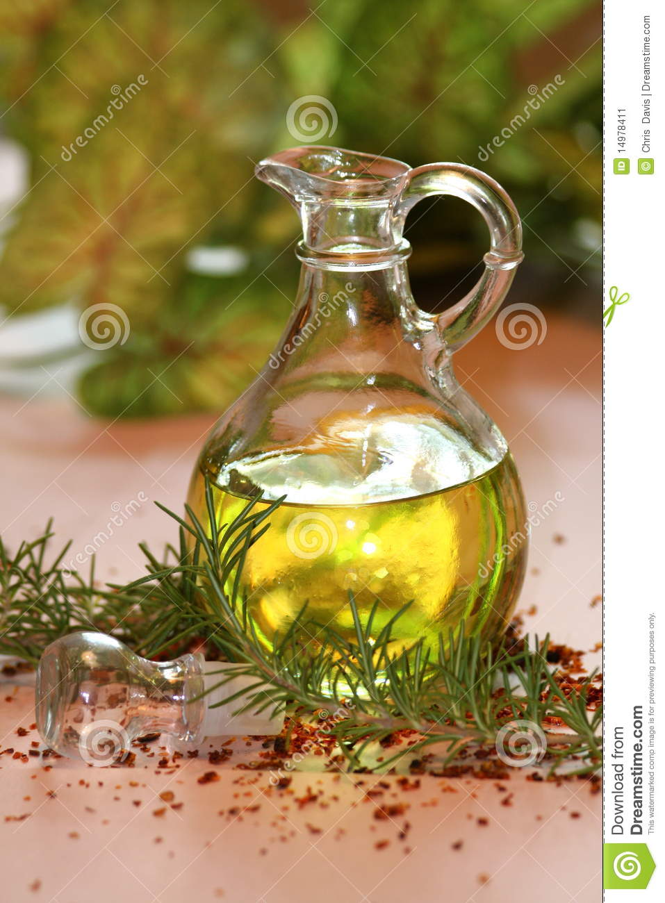 Olive Oil And Rosemary Stock Image Image 14978411