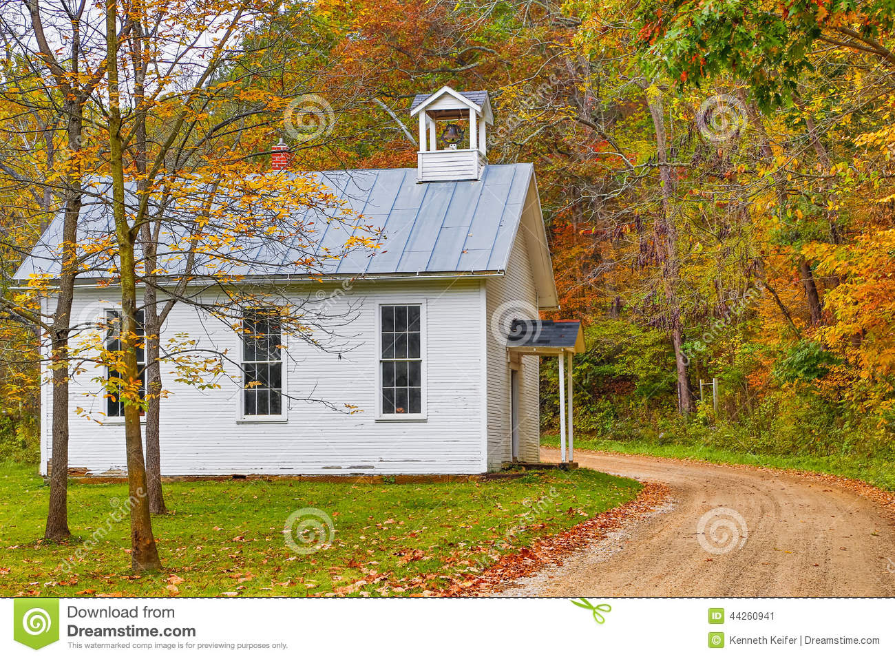 One Room Schoolhouse Stock Image Image Of Education