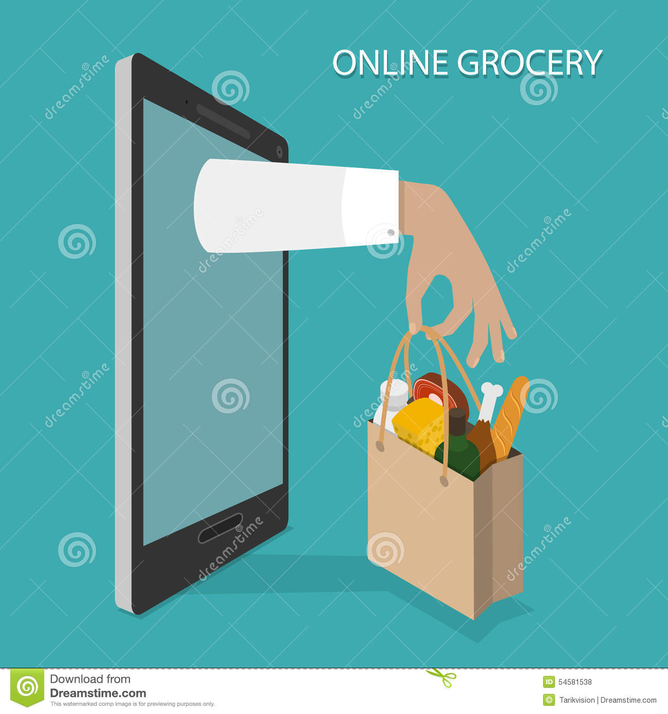 Order Grocery Food Online