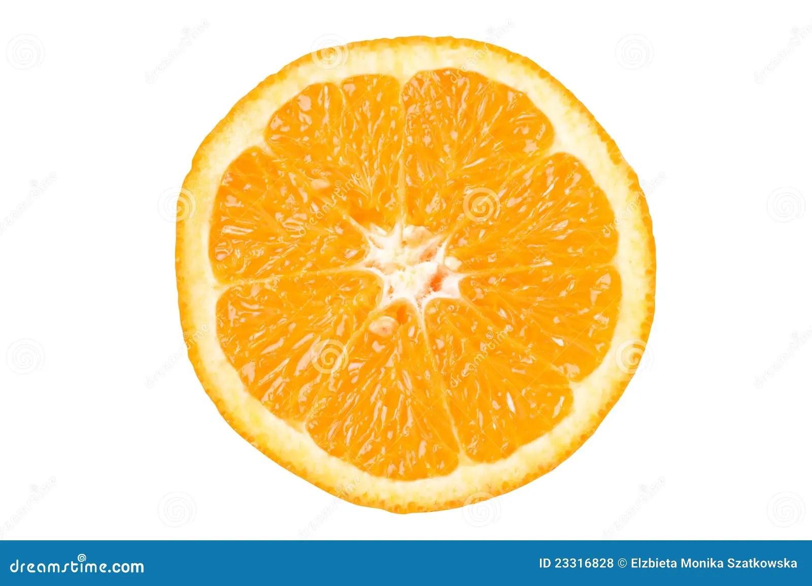 Orange Slice Stock Photo. Image Of Colour, Freshness