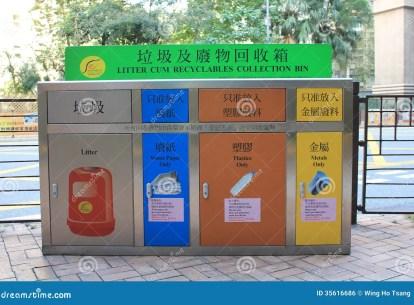 """Résultat de recherche d'images pour """"poubelle Hong kong"""""""