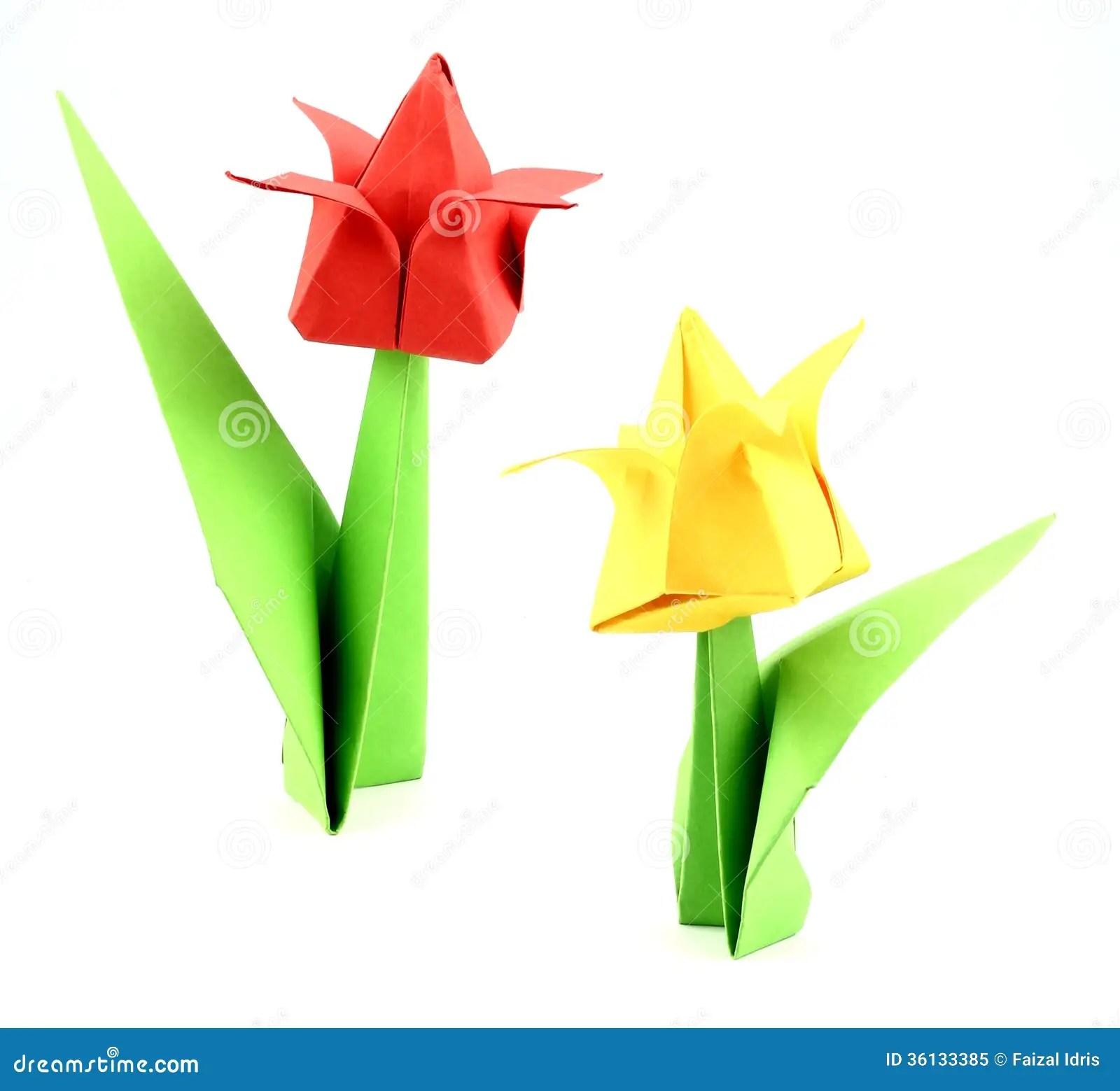 Japanese Folding Paper Flower