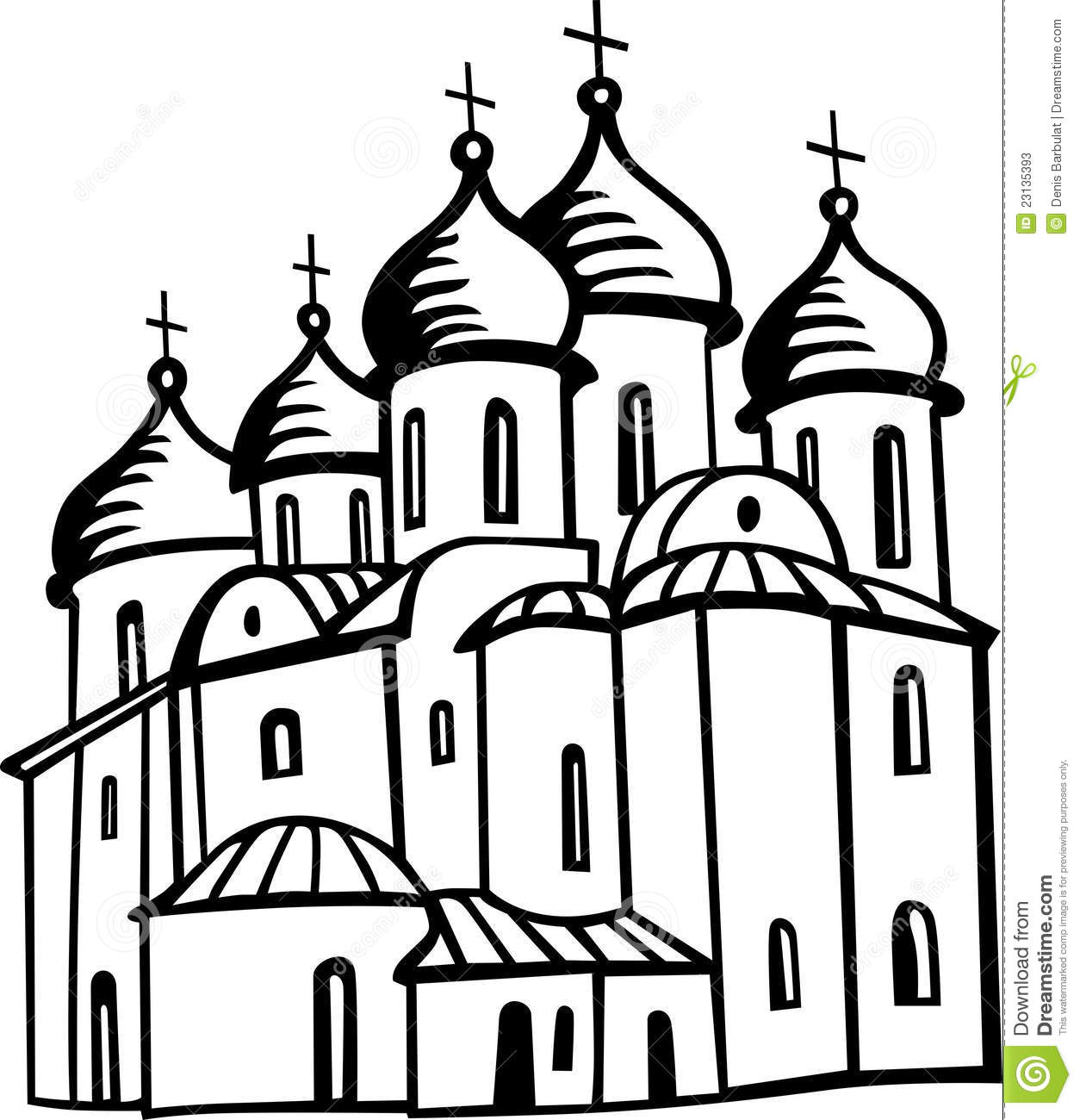Orthodox Church Stock Vector Image Of Architecture