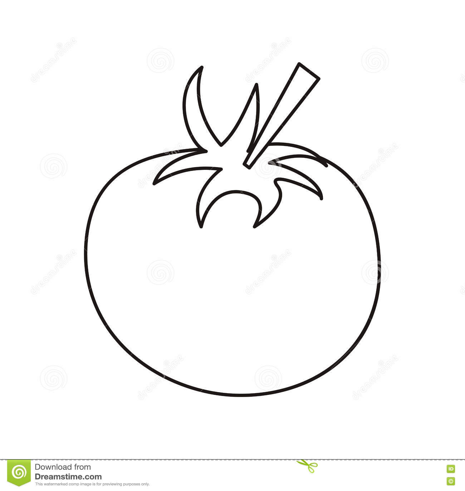 Clipart Tomato