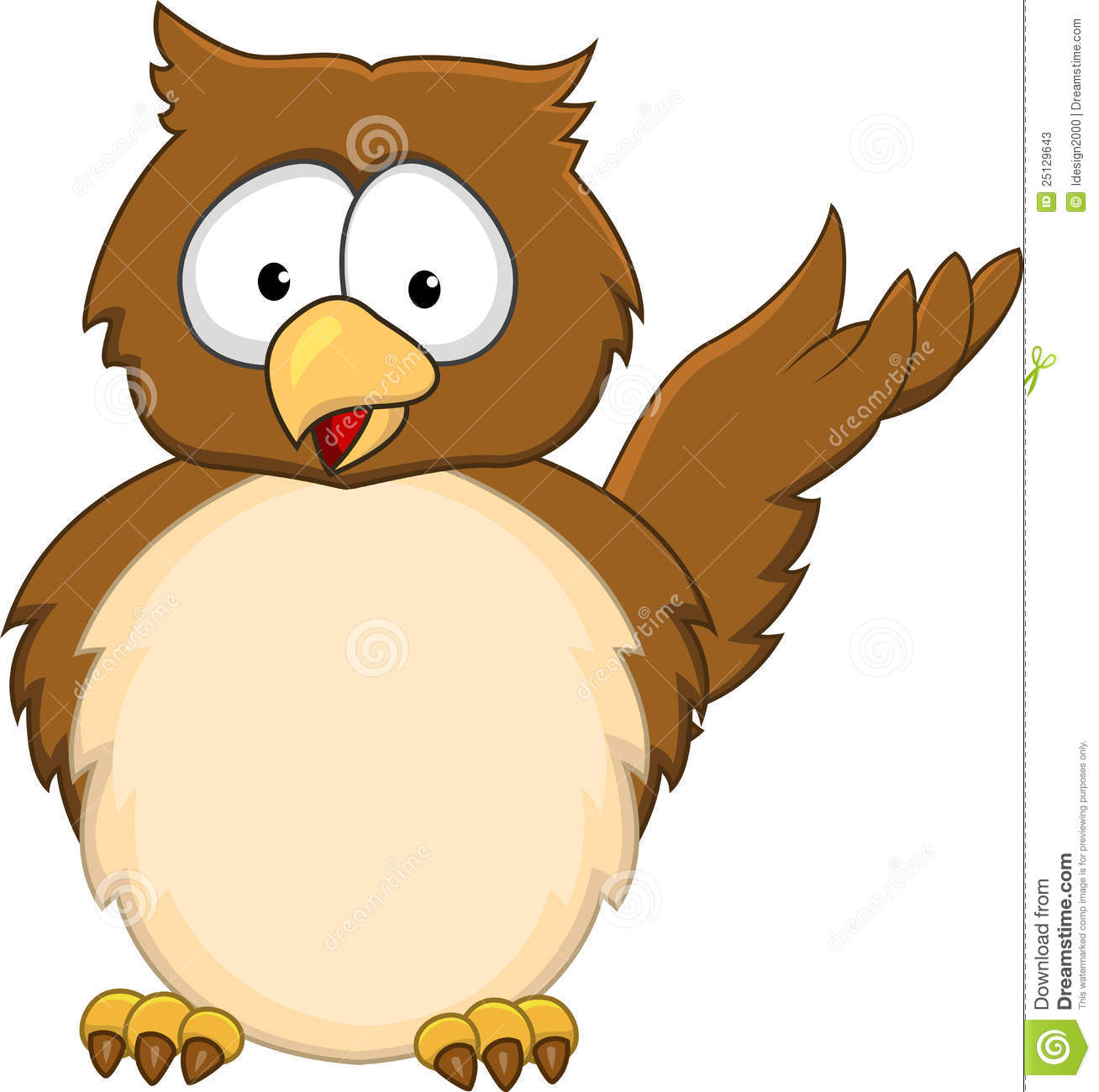 Stock Photos Owl Cartoon Image