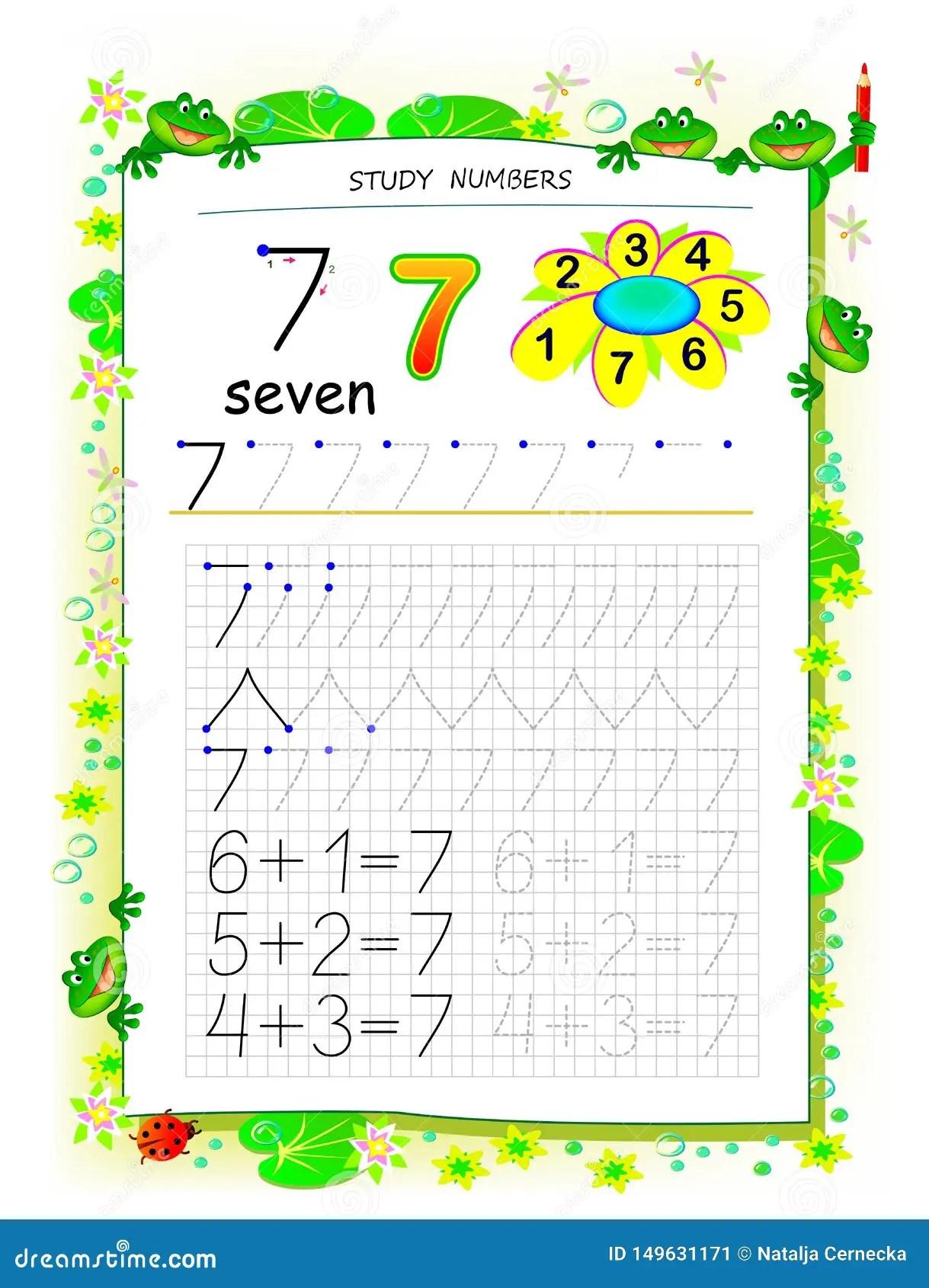 Pagina Educativa Su Carta Quadrata Per I Bambini Con Il