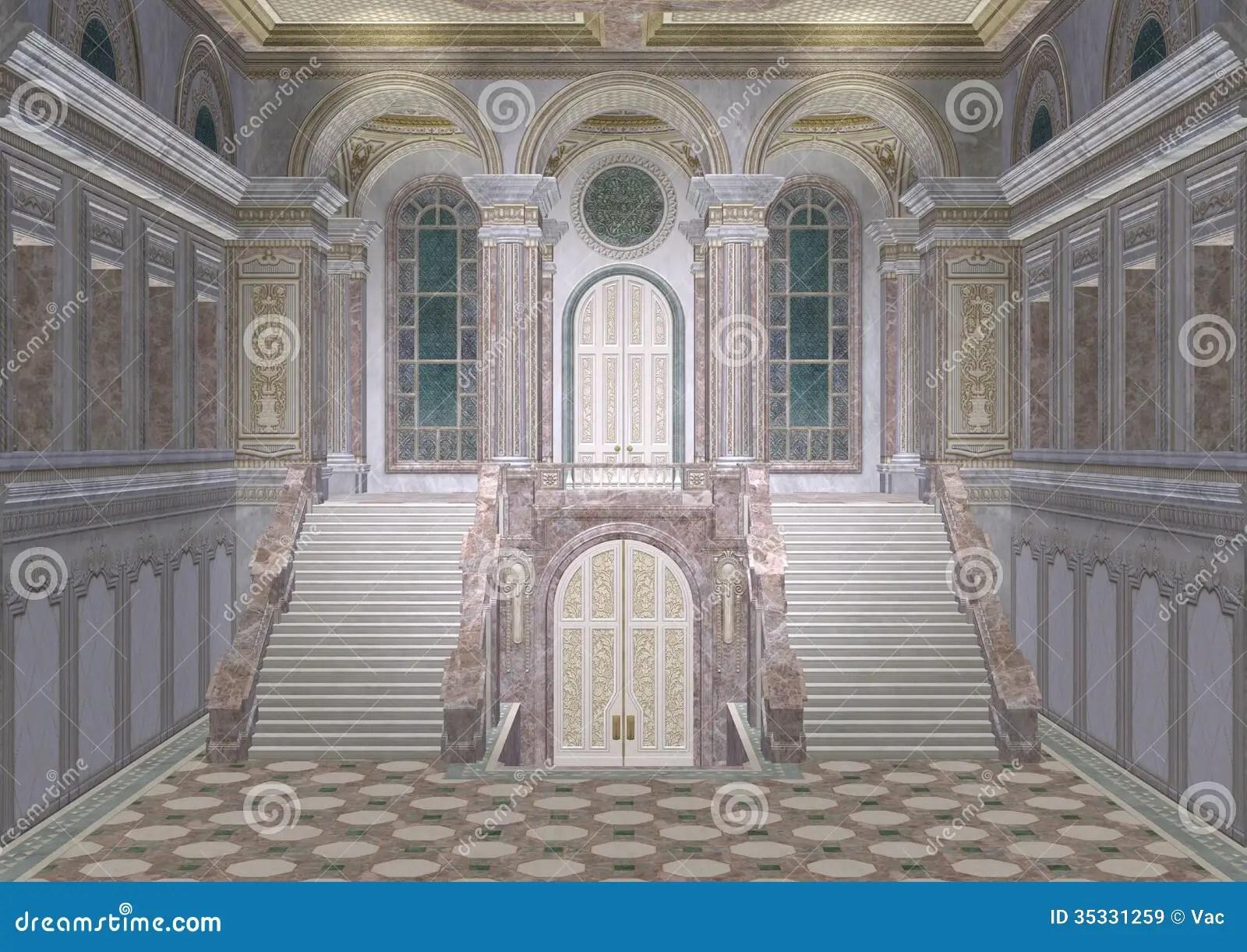 Palace Entrance Stock Illustration Image Of Door Magic