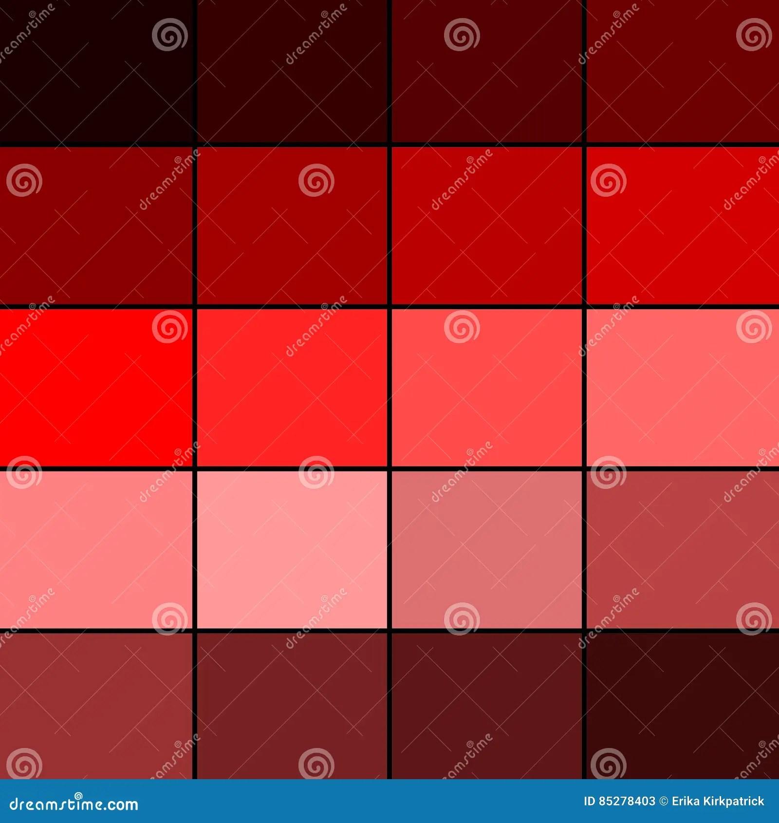 Palette De Couleurs Rouge Illustration Stock Illustration Du Roue 85278403