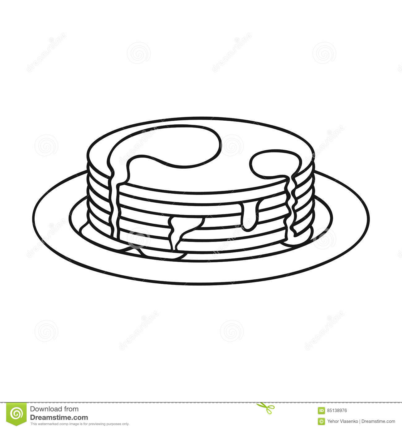 Pancake Breakfast Clipart