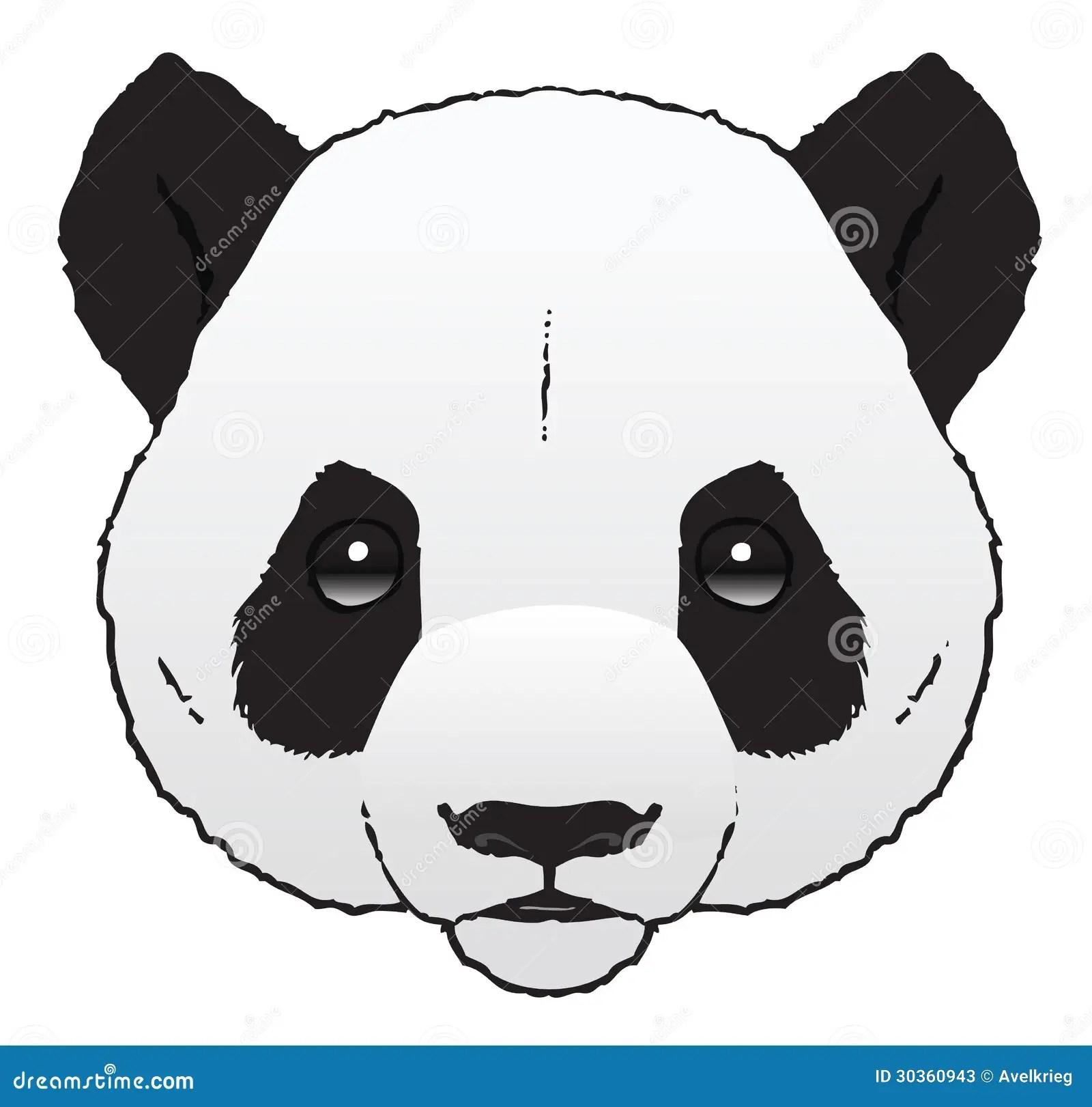Panda Stock Vector Illustration Of Asia Mammal Image