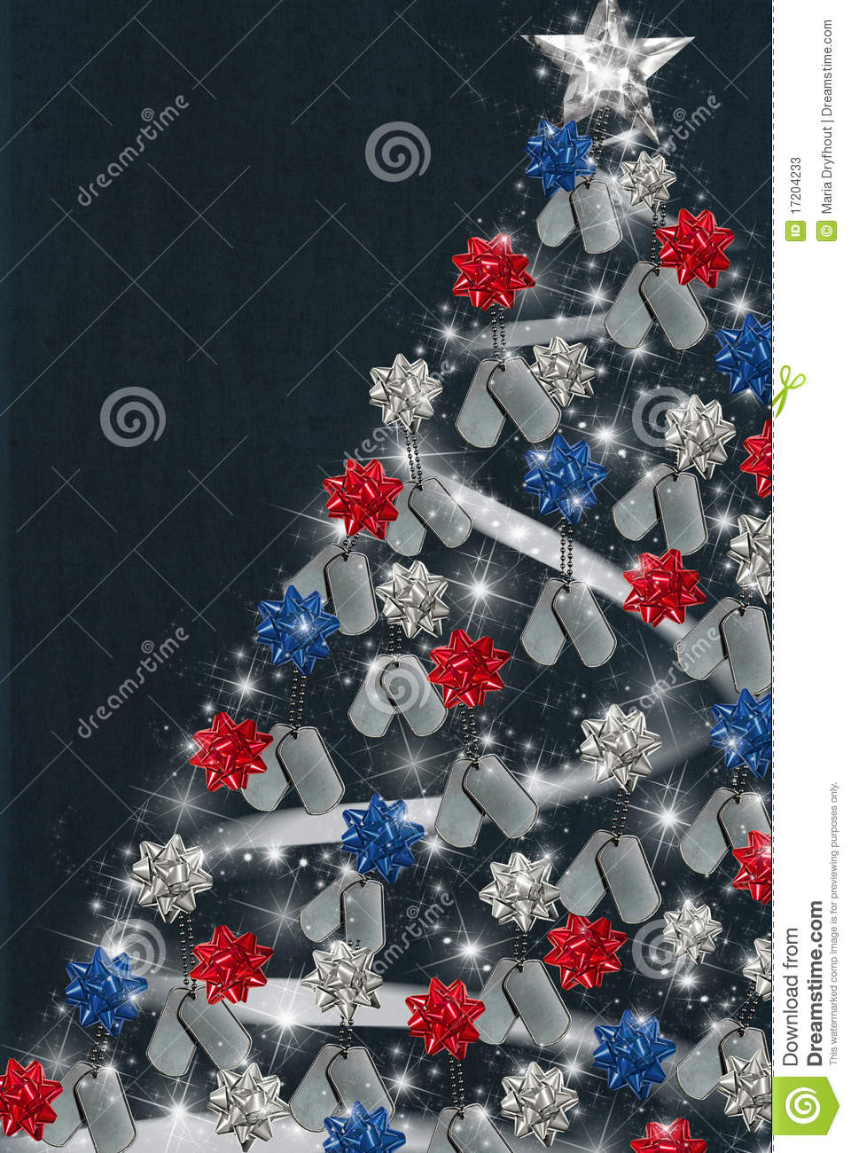 Patriotic Christmas Stock Photos Image 17204233