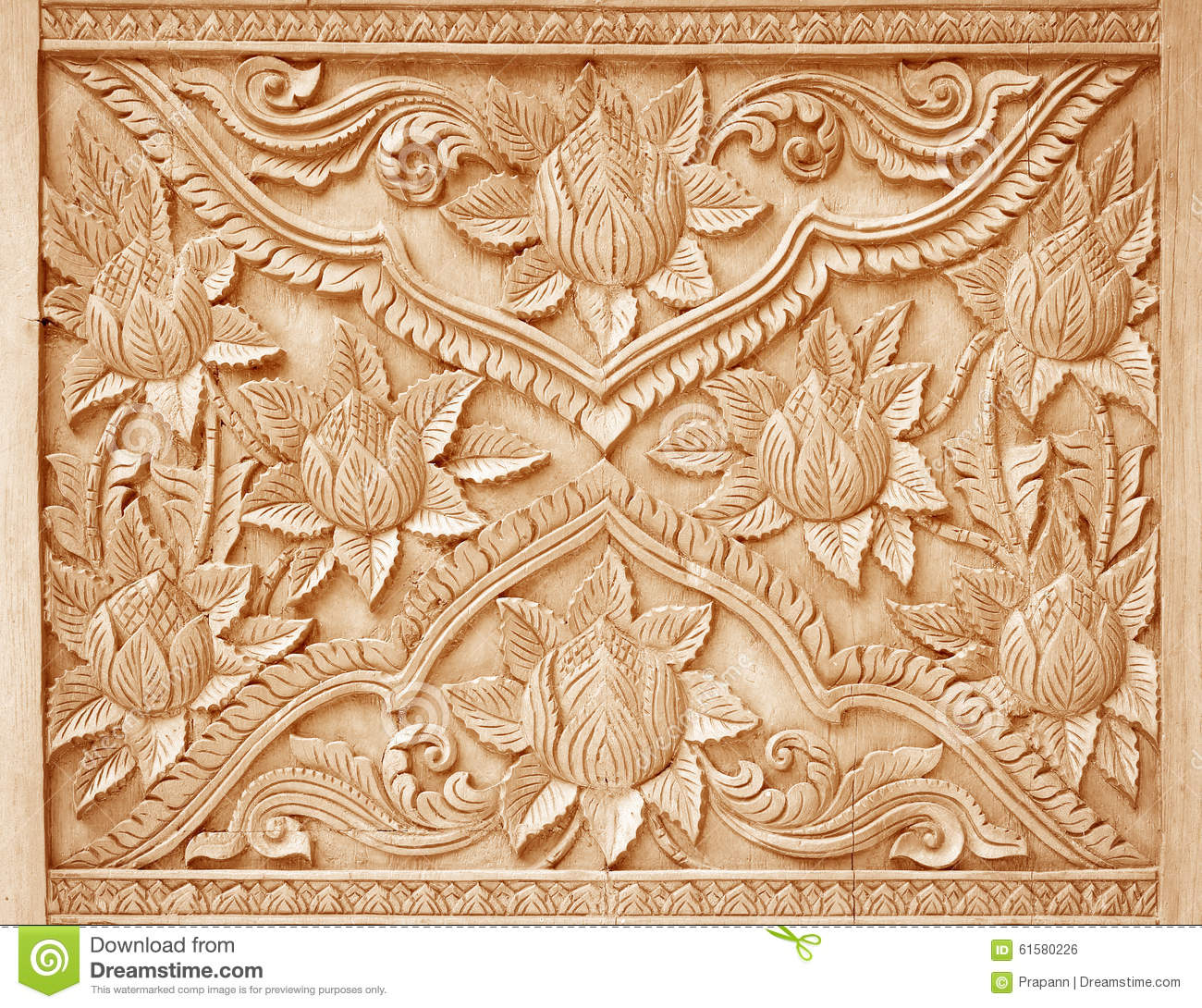 Floral Wood Carving Patterns