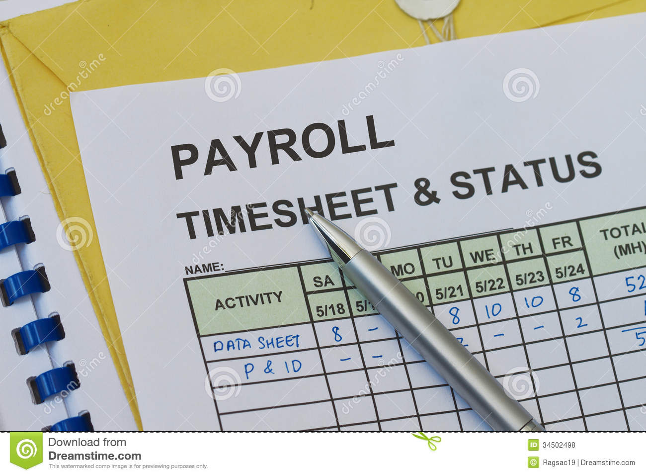 images for payroll timesheet