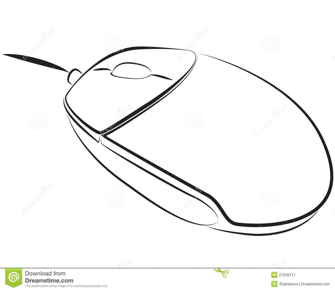 Pc Mouse Stock Illustration Illustration Of Order