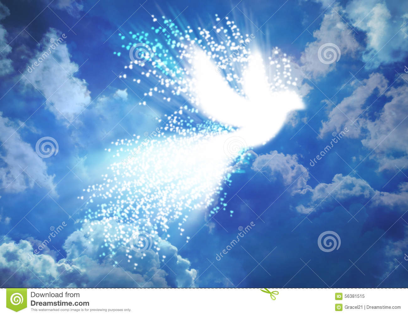 Peace Dove Stock Image Image Of Abstract Christian