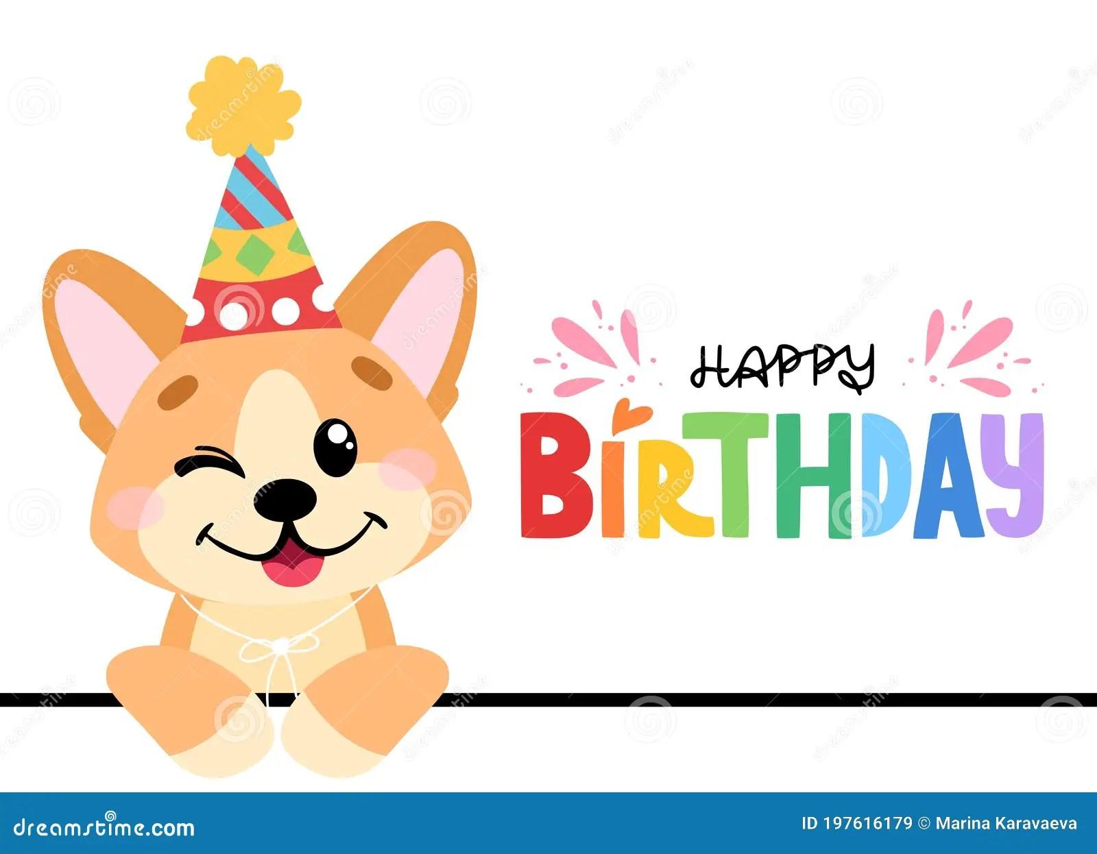 Happy Birthday Corgi Stock Illustrations 100 Happy Birthday Corgi Stock Illustrations Vectors Clipart Dreamstime