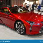 Philadelphia Pennsylvania U S A February 9 2020 The Side View Of The Red Color Of 2020 Lexus Lc500 Sports Car Editorial Photo Image Of Lexus Design 173903001