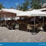 Outdoor Restaurant In Albaicin In Granada Editorial Photography Image Of Albaicin Granada 161118032